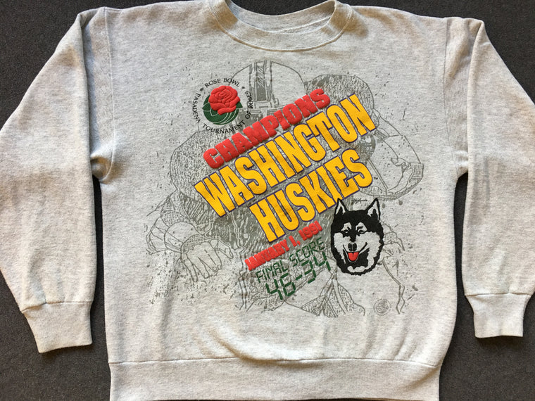 Washington Huskies 1991 Rose Bowl sweatshirt - L / XL