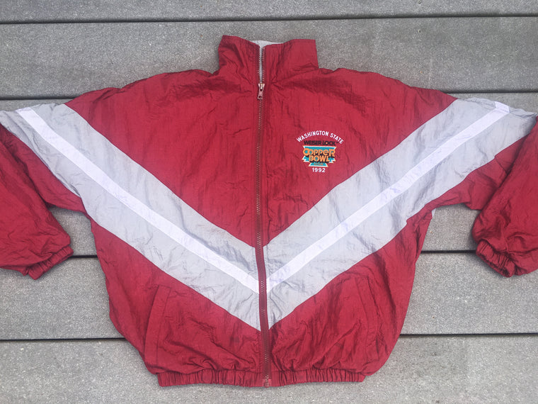 1992 Copper Bowl WSU Cougars jacket - XS / S