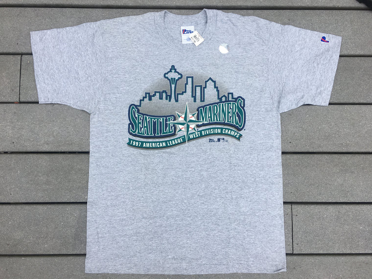 New Seattle Mariners 1997 AL West Champions shirt - L