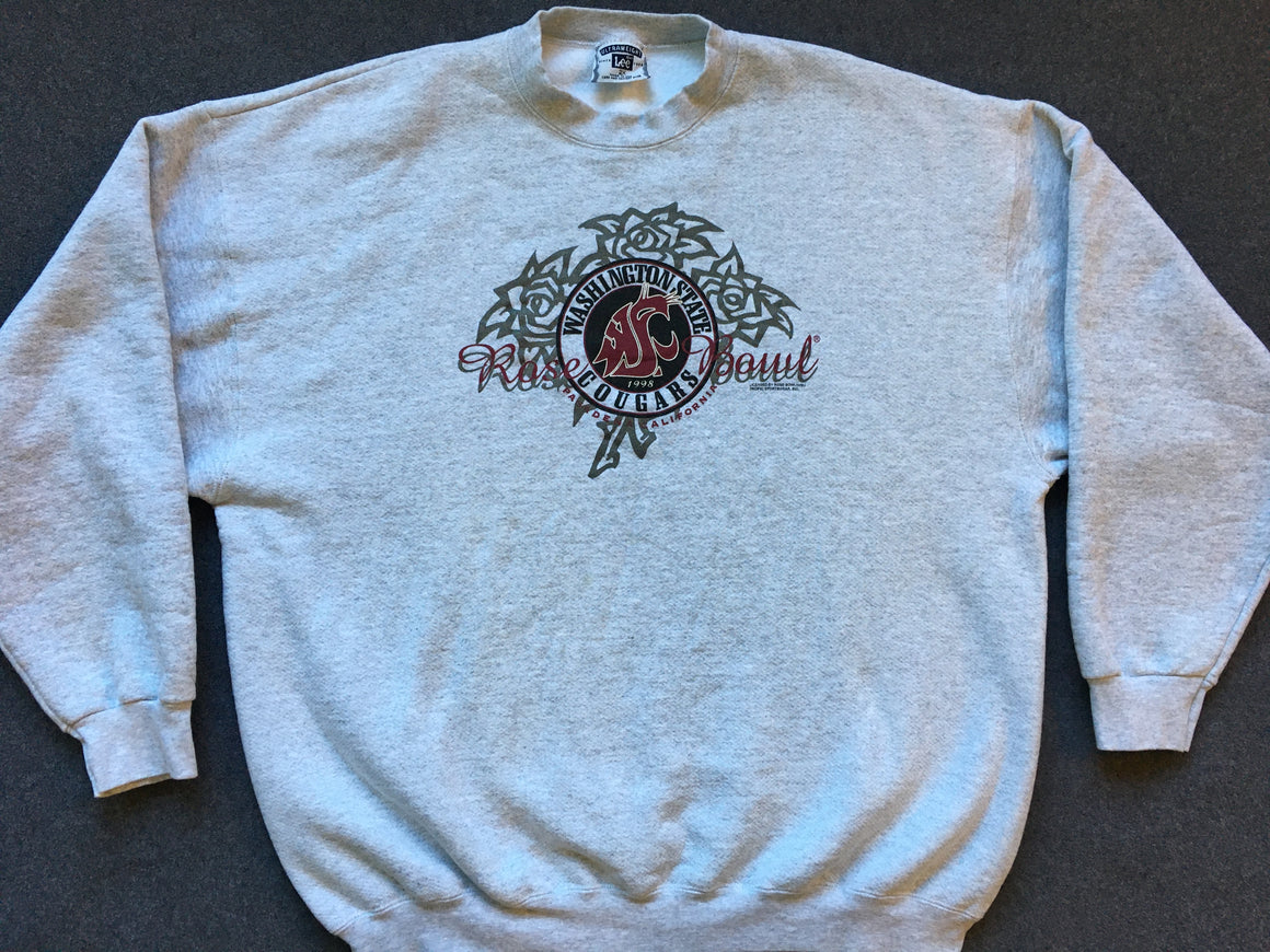WSU Cougars 1998 Rose Bowl sweatshirt - 2XL
