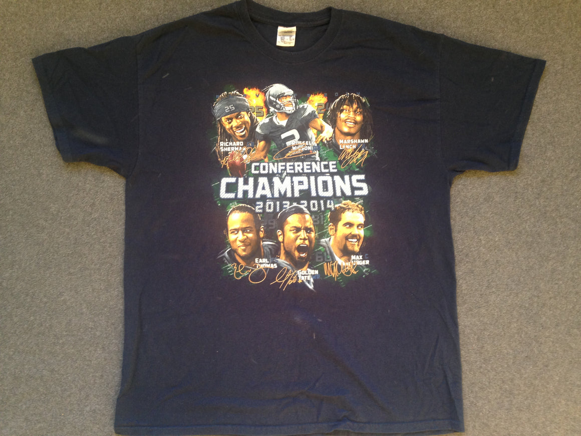 Super Bowl Seattle Seahawks t shirt- XL