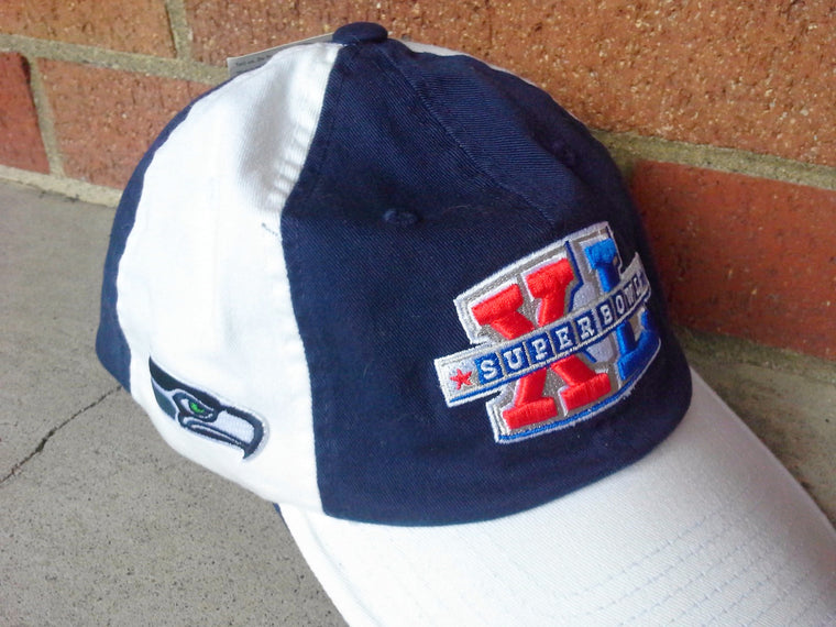 Vintage Seattle Seahawks Super Bowl XL hat NEW WITH TAG NWT by Reebok