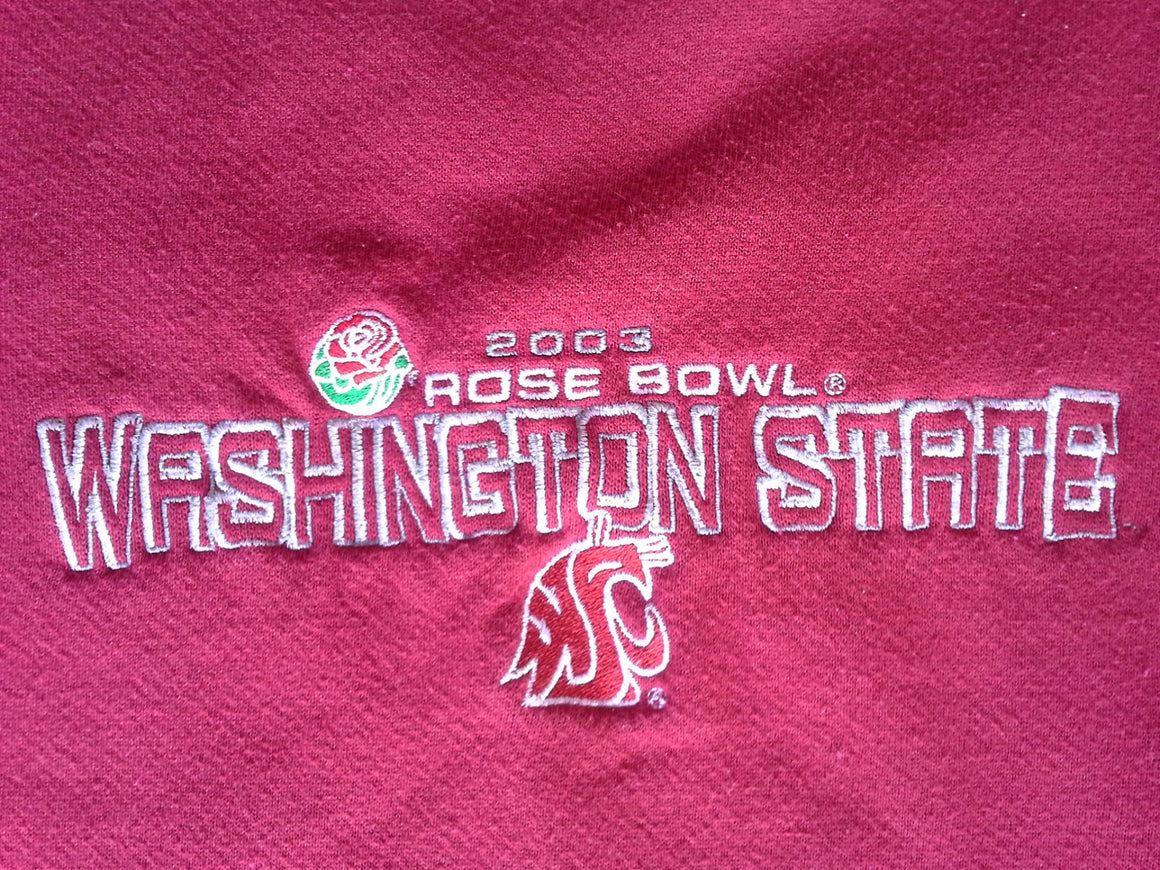 Washington State Cougars 2003 Rose Bowl crewneck sweatshirt - L