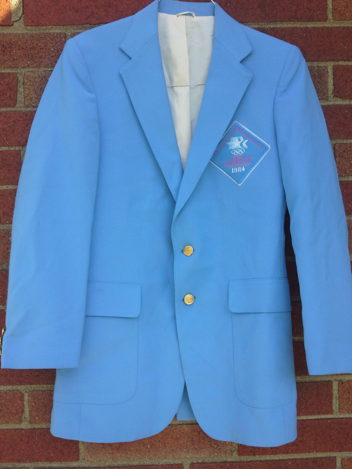 Vintage 1984 Los Angeles Olympics Levis official staff uniform blazer - 38 Long