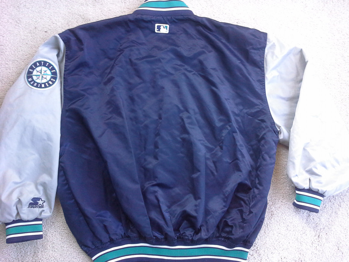 Vintage Seattle Mariners satin jacket by Starter - L