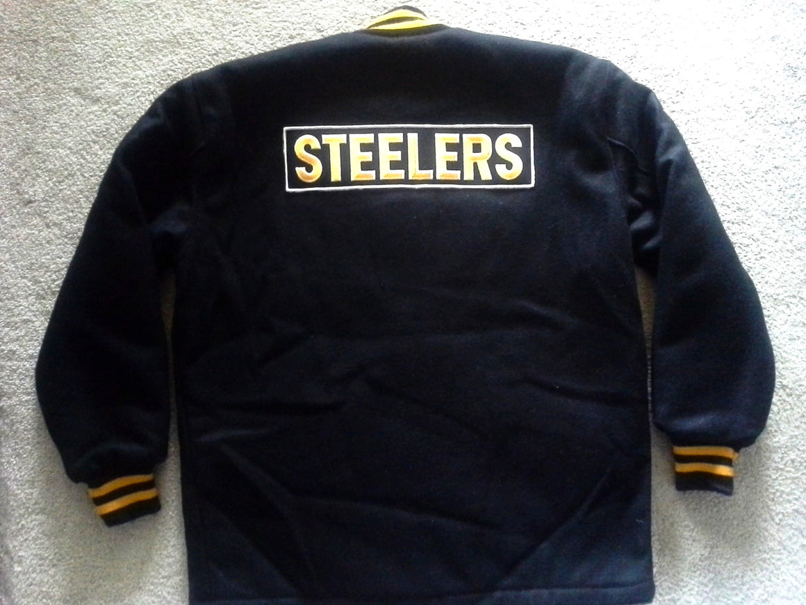 NWT Pittsburgh Steelers varsity jacket - L