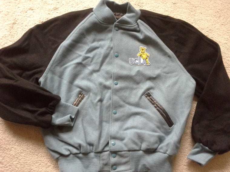 Vintage UCLA Bruins wool letterman varsity jacket - L