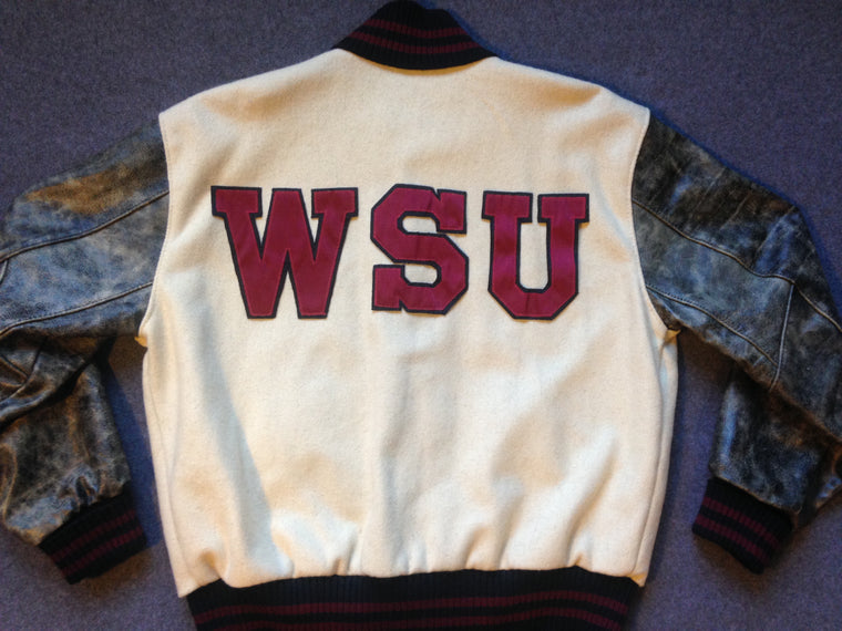 Vintage Washington State Cougars varsity jacket - L