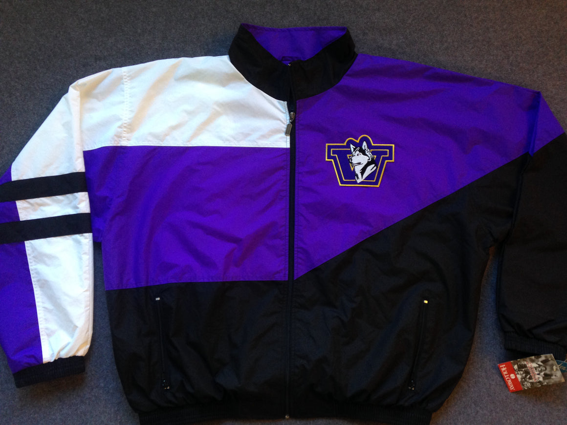 NEW WITH TAG Washington Huskies windbreaker - S