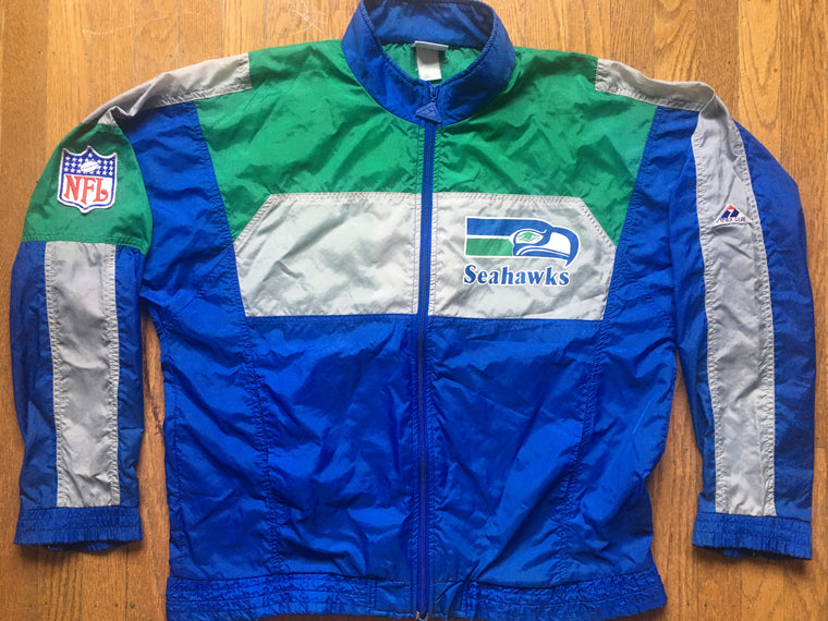 Seattle Seahawks windbreaker jacket - L