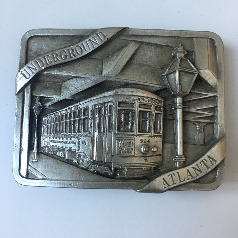 1978 Atlanta Underground belt buckle