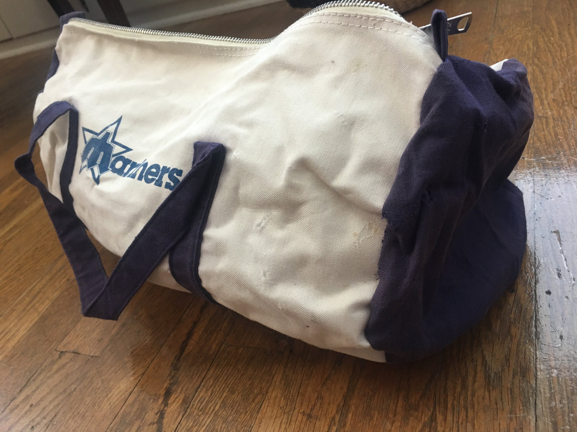 Vintage Seattle Mariners gym bag
