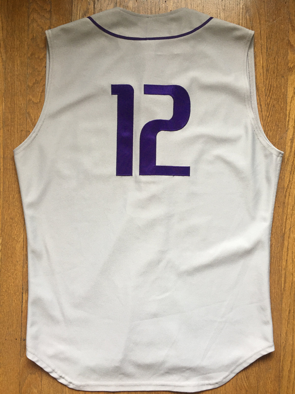 Washington Huskies authentic #12 baseball jersey - XL / 48