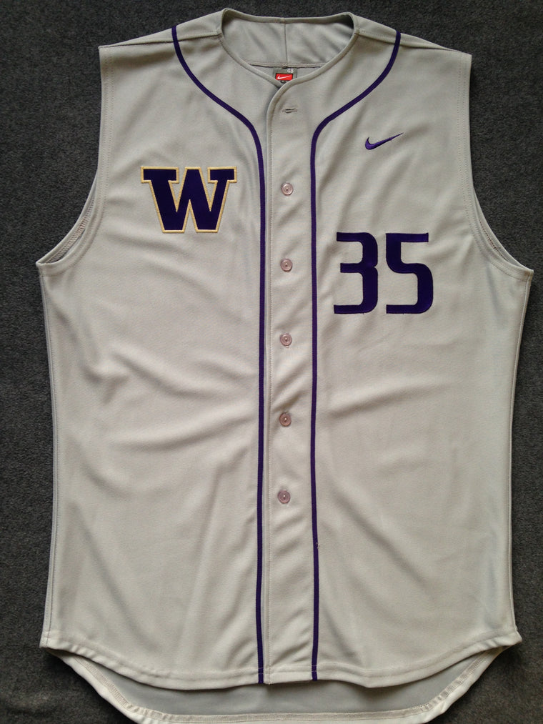 Washington Huskies authentic #35 baseball jersey - XL / 48