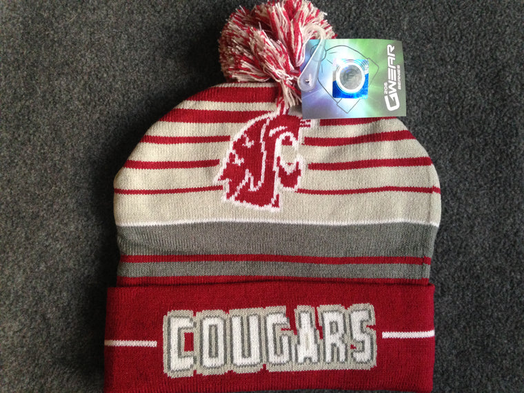 New WSU Cougars beanie hat