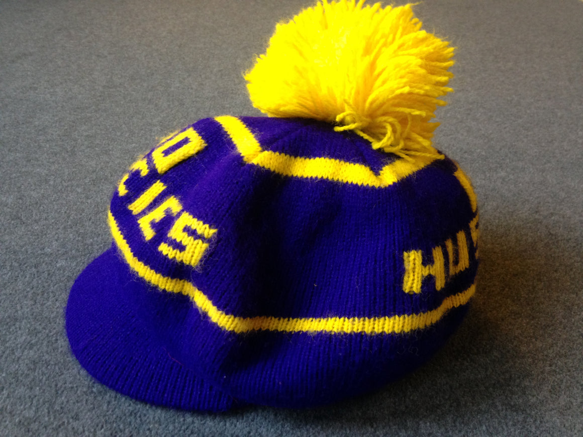 Vintage 80s Washington Huskies beanie