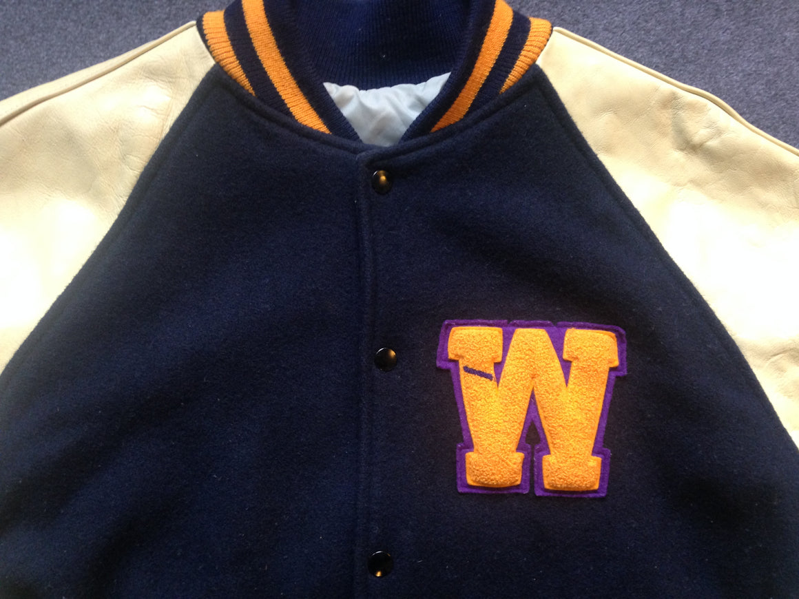 BENO BRYANT Washington Huskies letterman jacket - M