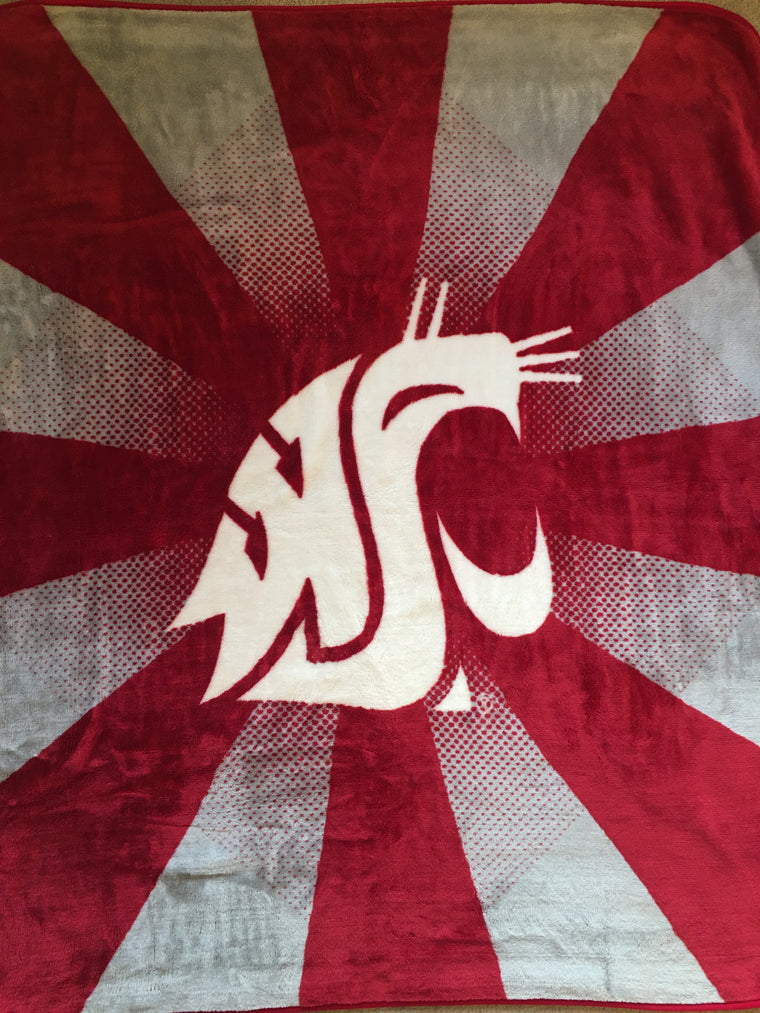 NEW WSU Cougars stadium blanket