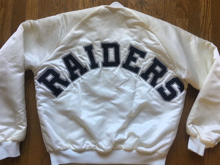 Los Angeles Raiders satin jacket - M