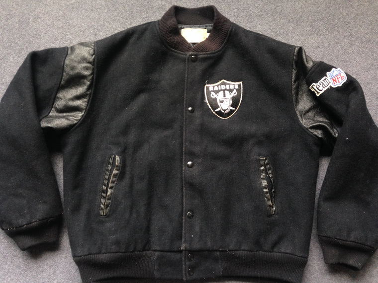 Vintage Los Angeles Raiders varsity jacket by Chalk Line - L