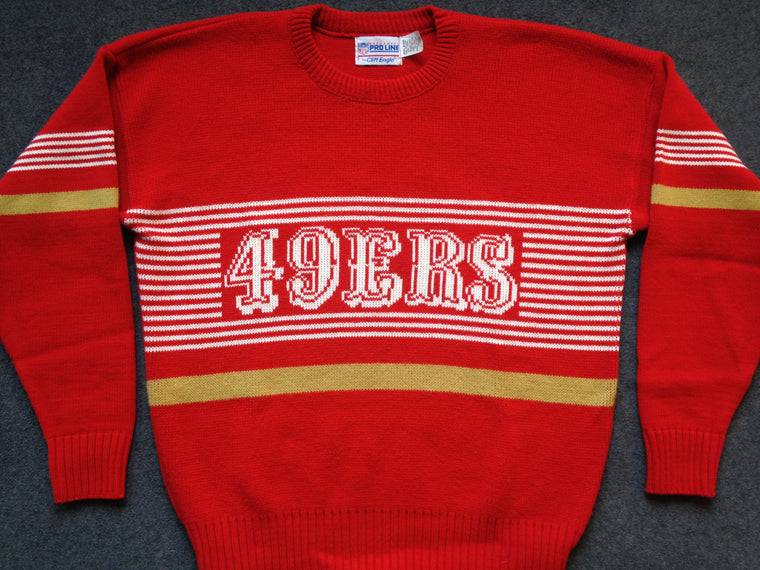 Vintage San Francisco 49ers Cliff Engle sweater - XL