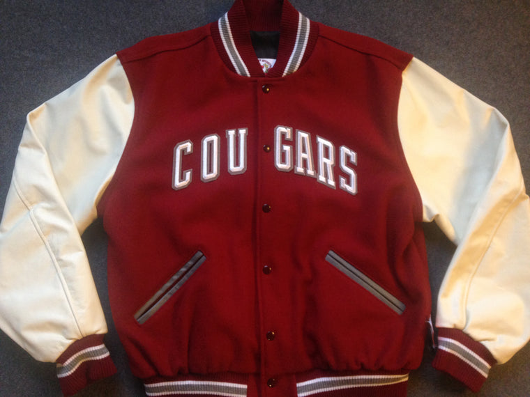 Washington State Cougars varsity jacket - L