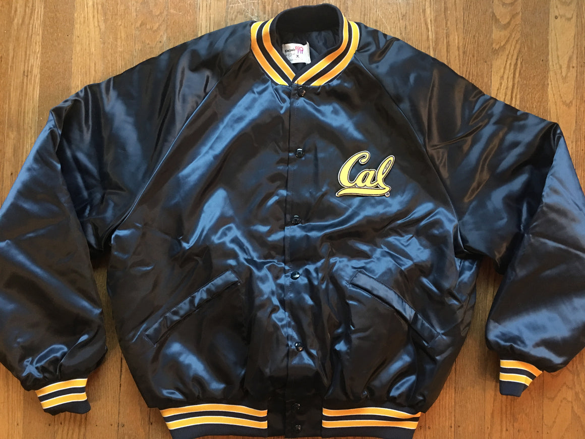 Cal Golden Bears satin jacket - XL