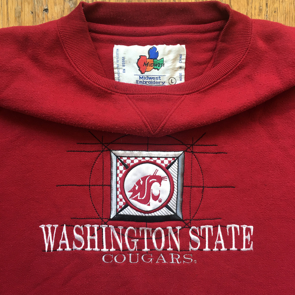 Washington State Cougars Sweatshirt - L