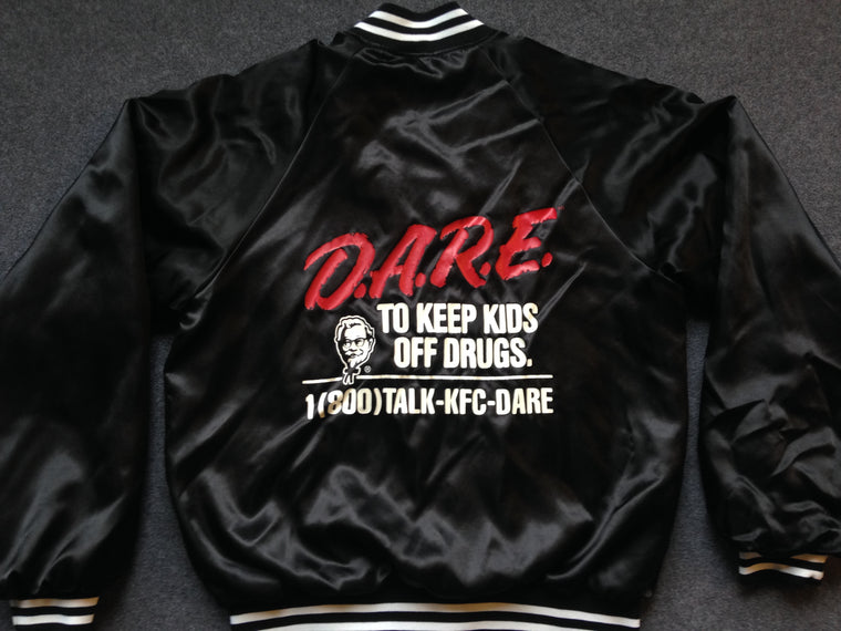 Vintage DARE KFC satin jacket - M