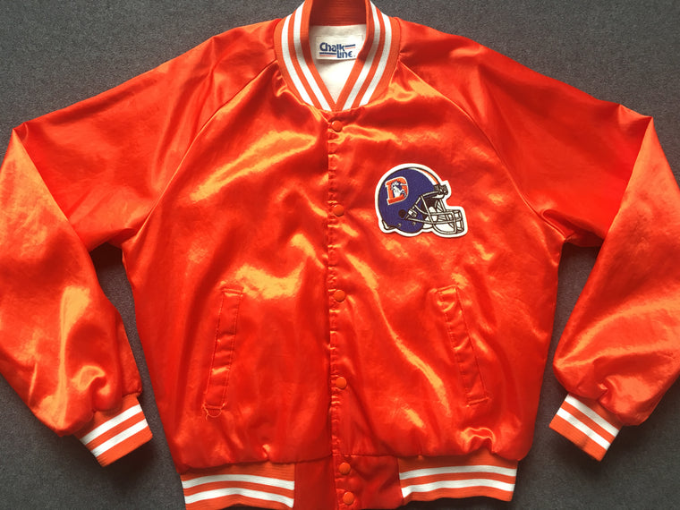 Vintage Denver Broncos satin jacket - L