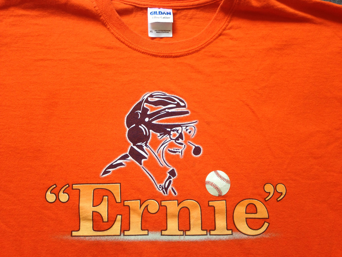 ERNIE HARWELL Detroit Tigers commemorative shirt - XL