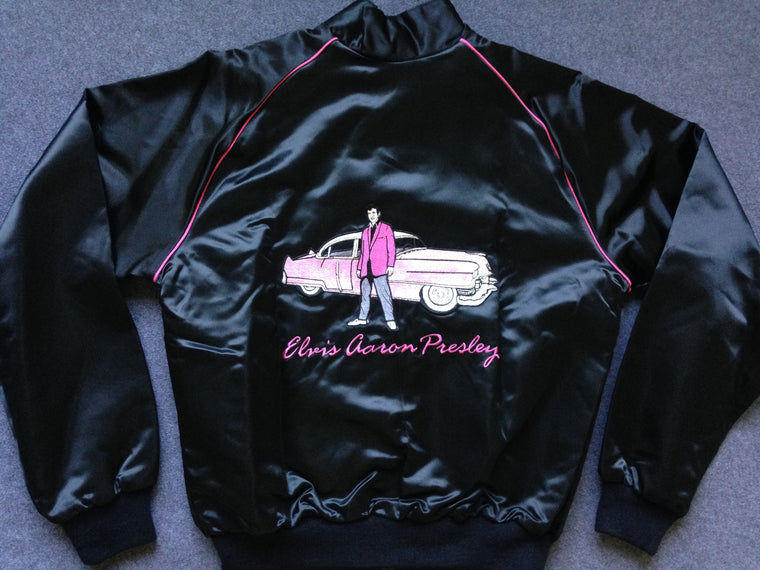 Elvis Presley satin jacket - M