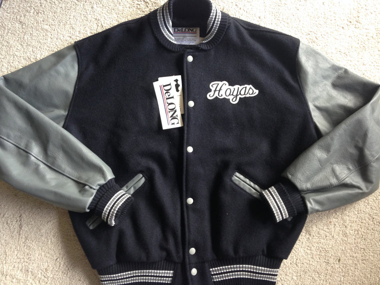 New Georgetown Hoyas letterman jacket - L