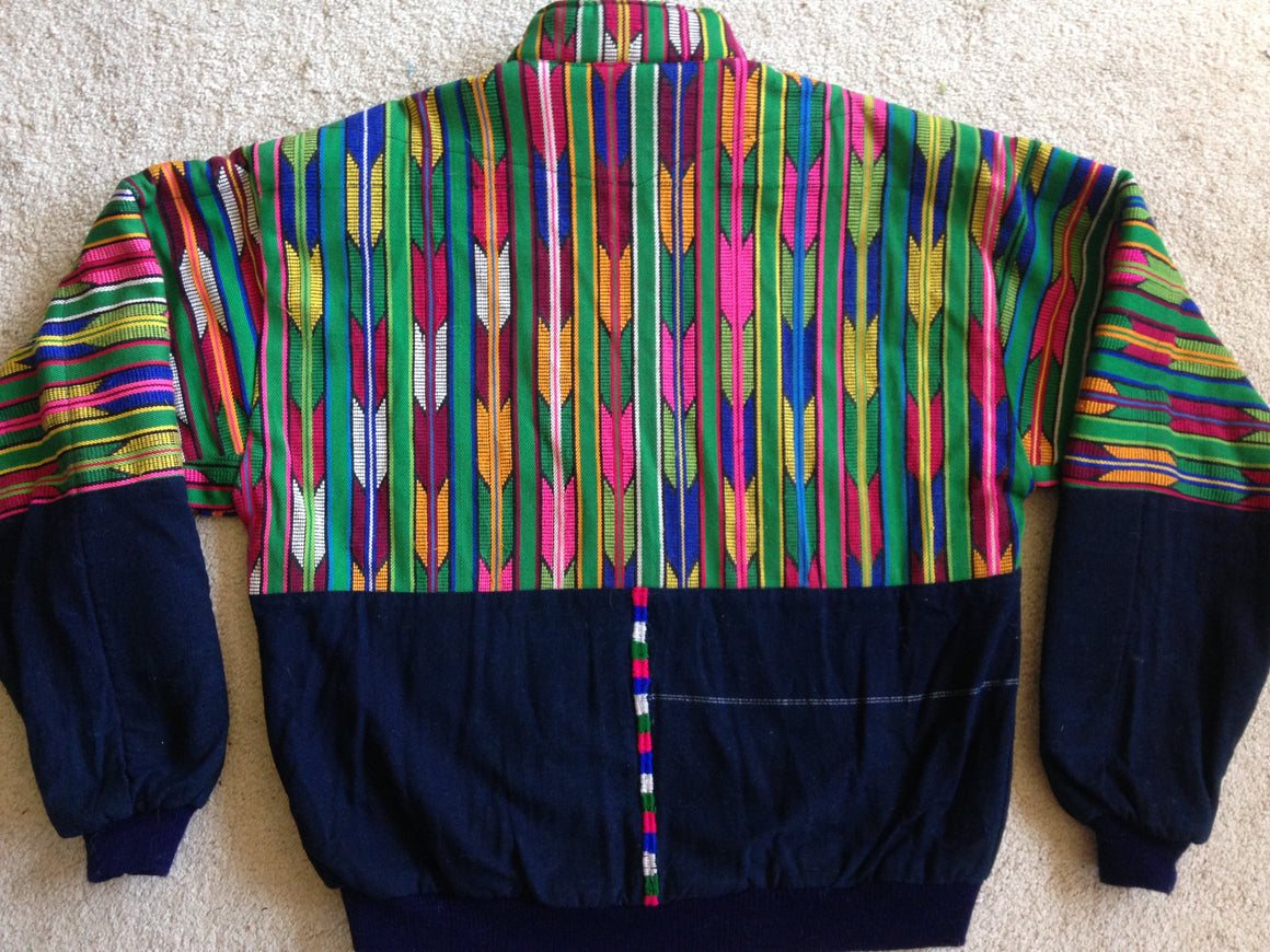 Guatemalan cotton party jacket - XL