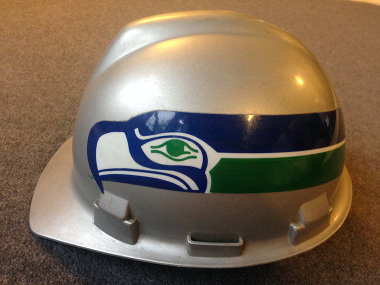 Vintage Seattle Seahawks construction hard hat
