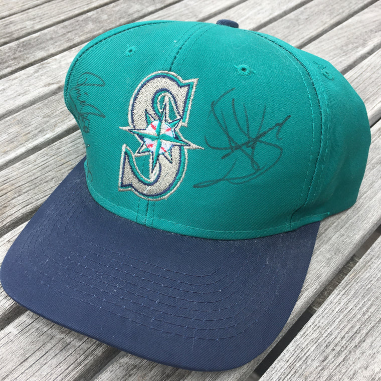 Jay Buhner signed Seattle Mariners hat