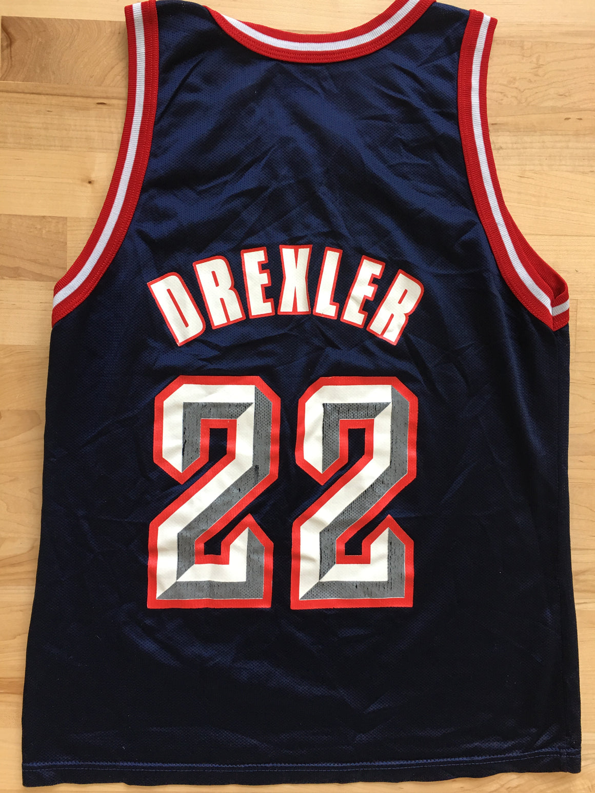 Clyde Drexler Houston Rockets jersey - S / M