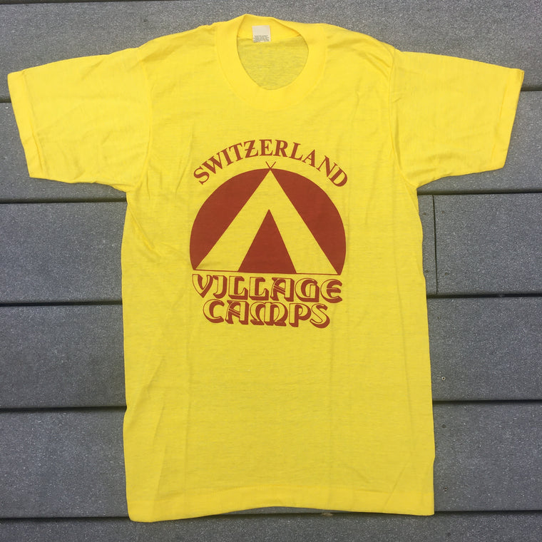 Late 70s Switzerland tee shirt - S / M