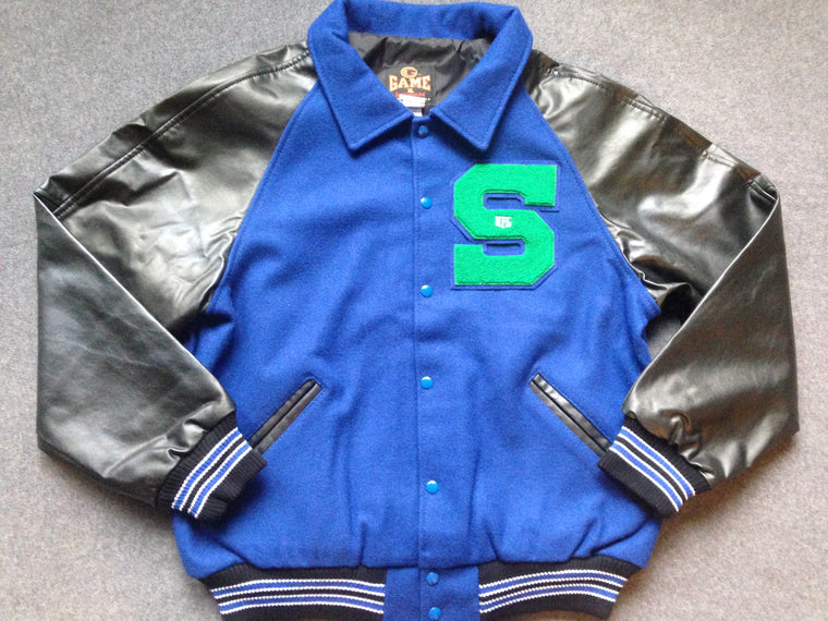 Seattle Seahawks letterman varsity jacket - L
