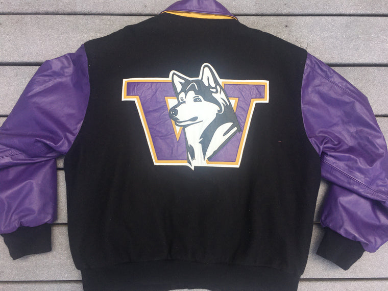 Washington Huskies varsity jacket - XL