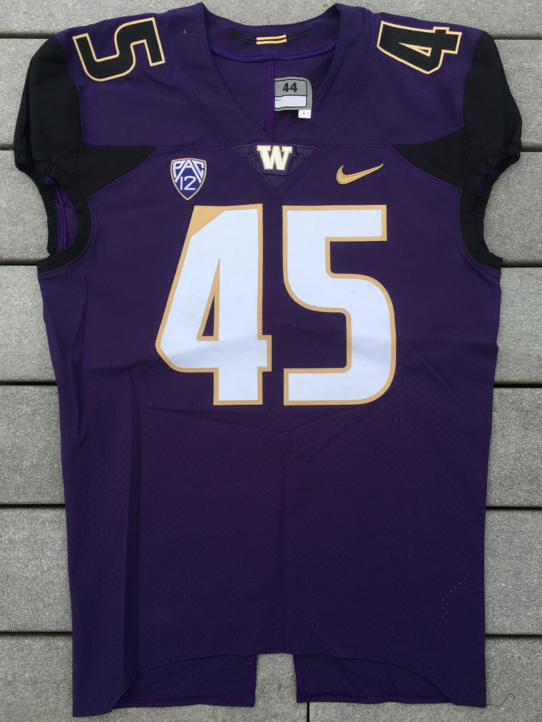Authentic #45 Washington Huskies Jersey - 44
