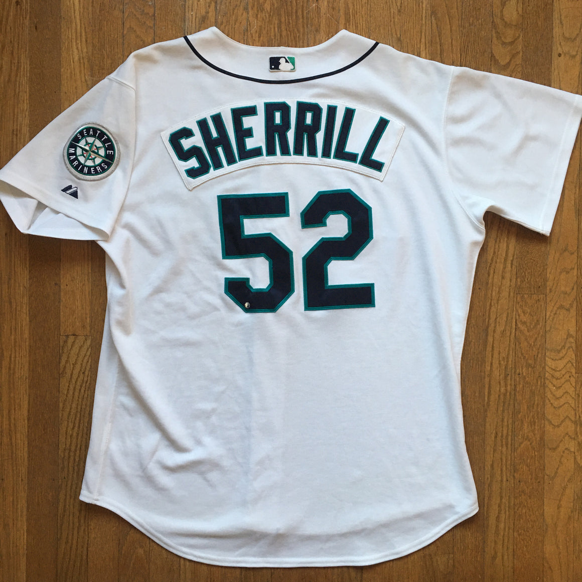 Authentic Seattle Mariners George Sherrill jersey - 52 / 2XL