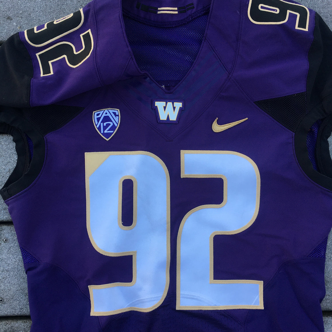 Washington Huskies #92 authentic jersey -  42 / L