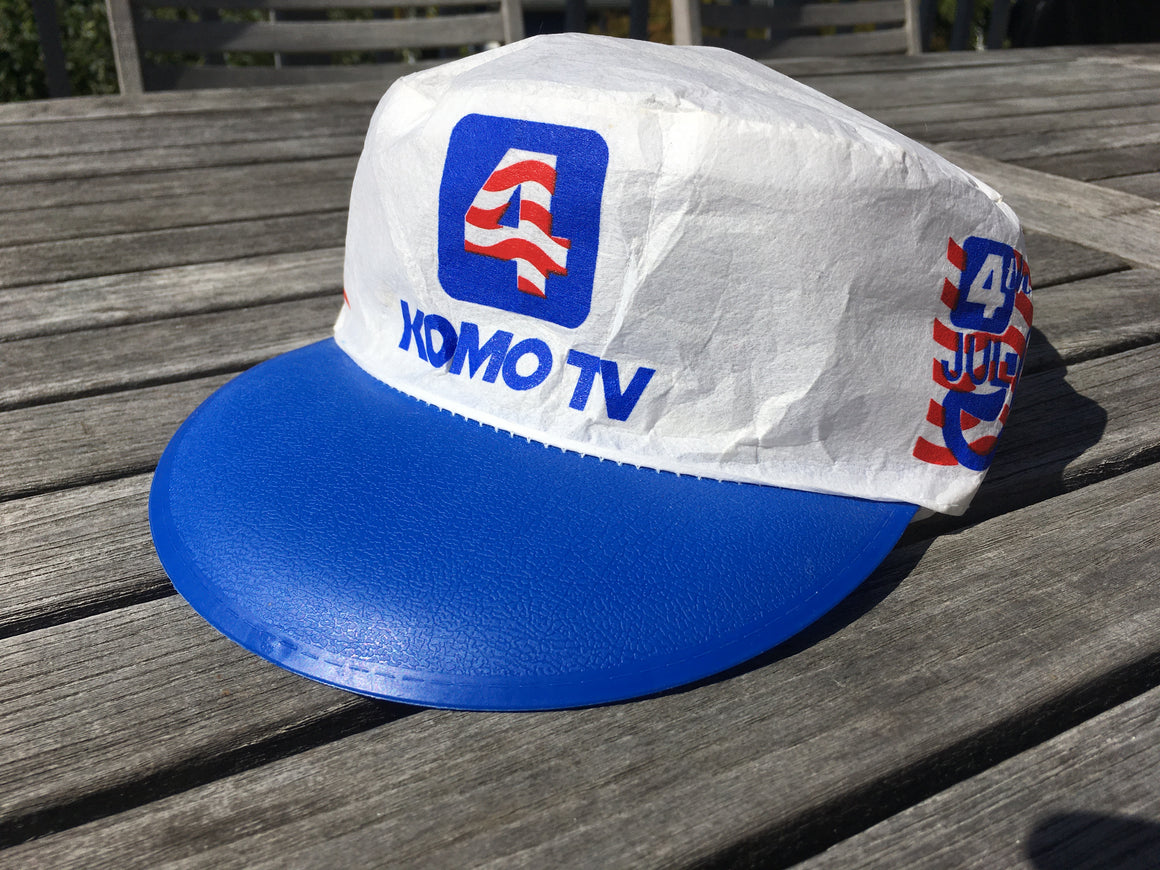 KOMO TV 4th of July painter hat