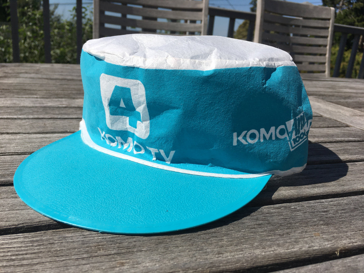 KOMO TV & radio painter hat