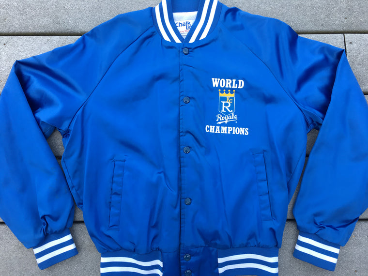 1985 Kansas City Royals World Champions jacket - M