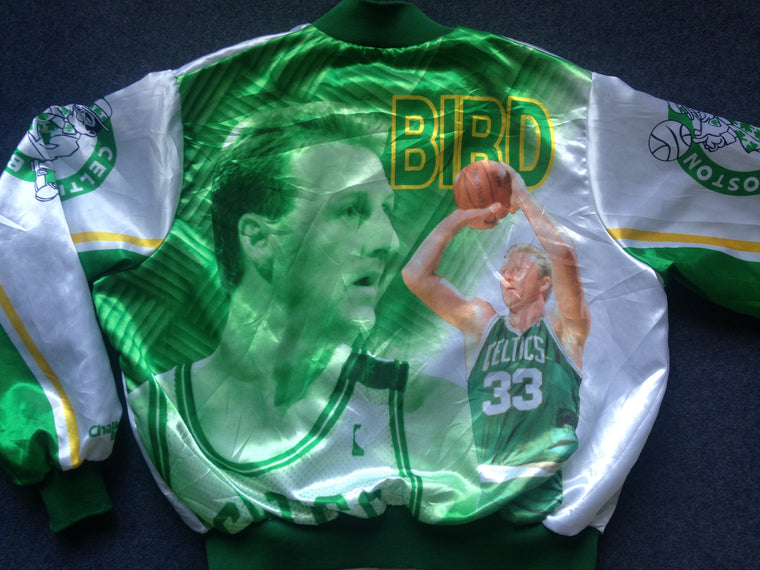 Larry Bird Boston Celtics Fanimation jacket - XL