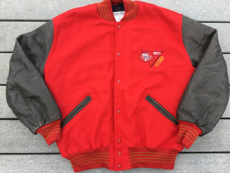 Vintage San Francisco 49ers varsity jacket - XL