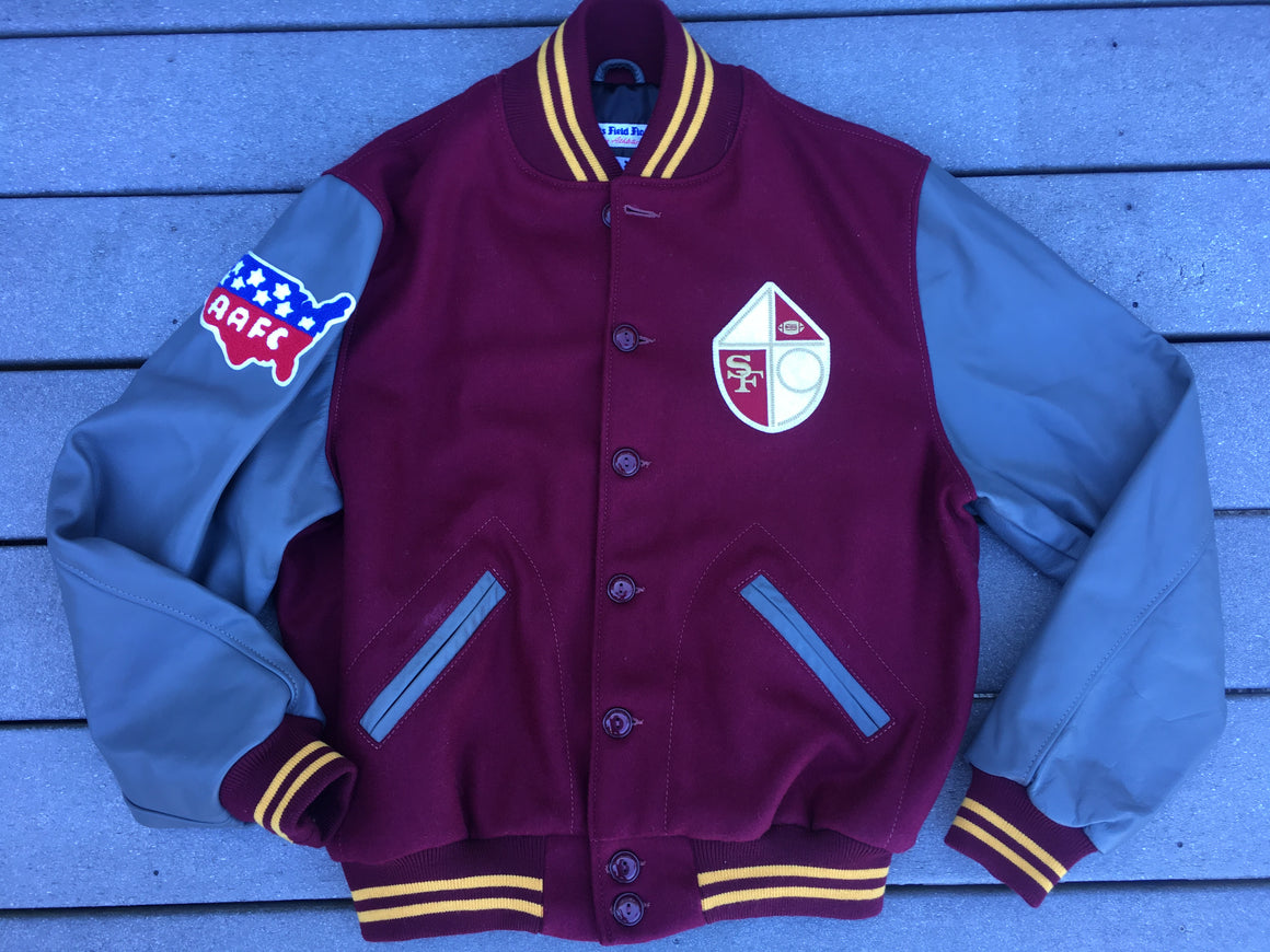 San Francisco 49ers varsity jacket - L