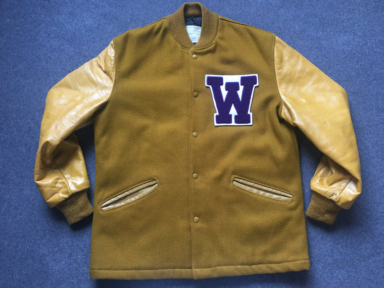 Vintage Washington Huskies varsity jacket - M / L
